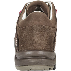 AKU Nemes Suede Low GTX Chaussures Femme, brown/magenta